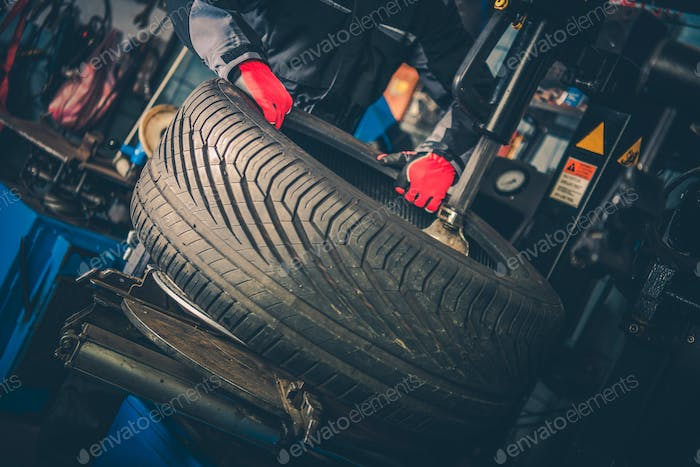 Car Tire Vulcanizing