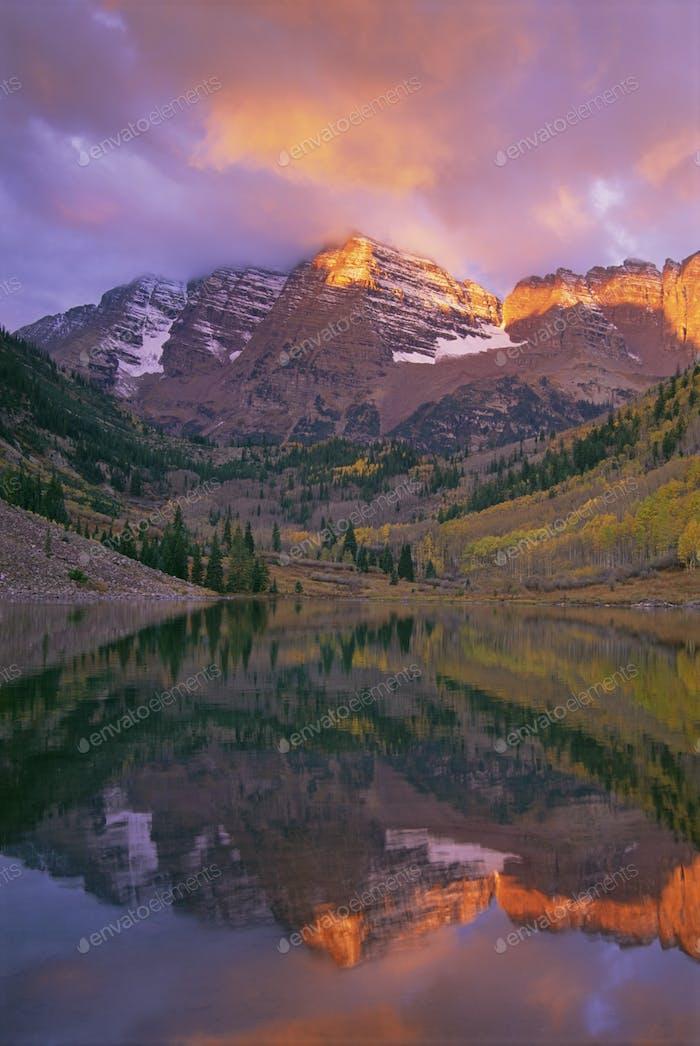 Elk Mountains,Maroon Peak and North Maroon Peak,White River National Forest