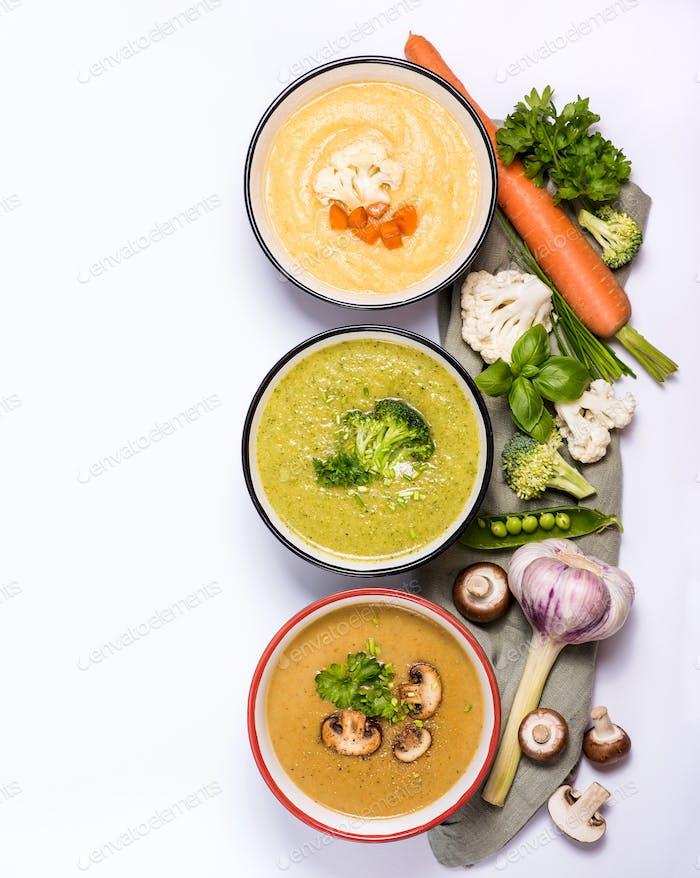 Vegan Cream Soups