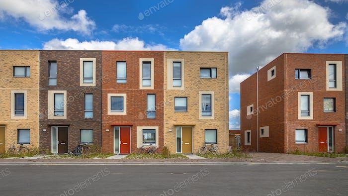Moderne Sozialwohnungen