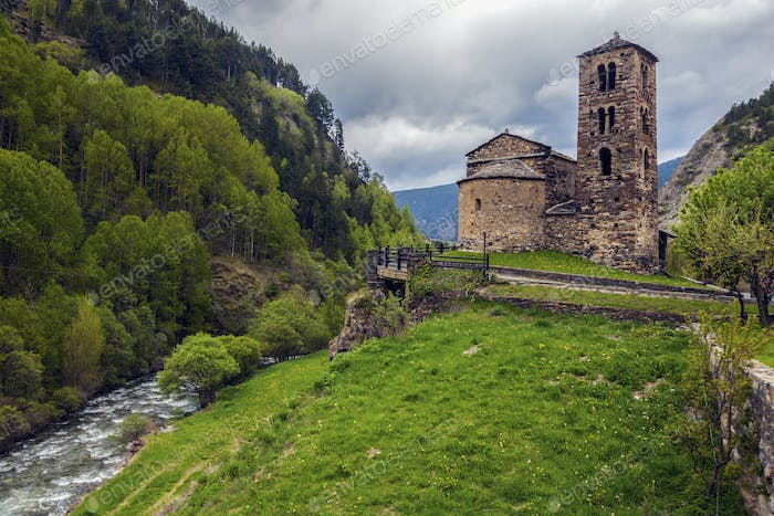 Sant Joan de Caselles Church in Canillo