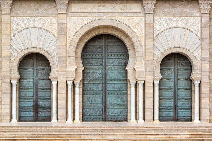 Malik Ibn Anas Mosque Entrance