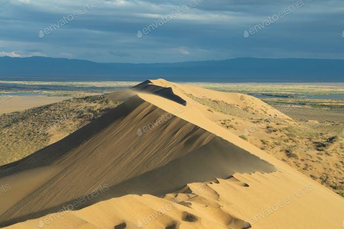 Singing Sand Dune, Kazakhstan
