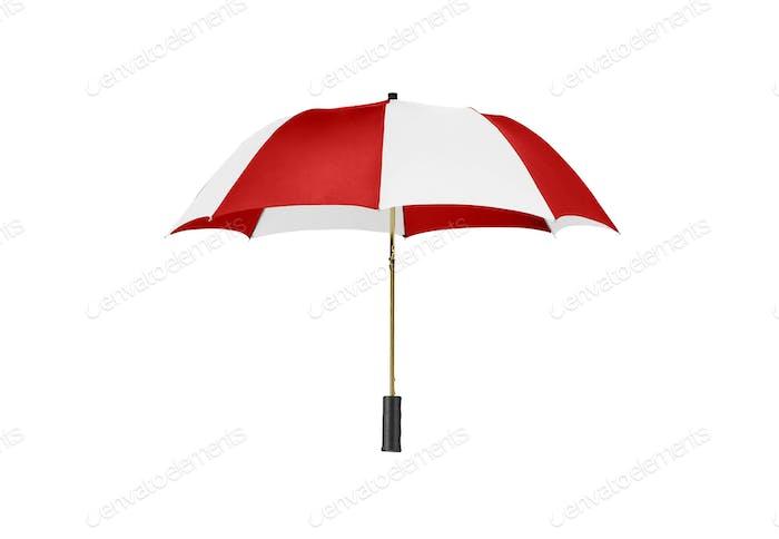 Classic Umbrella Isolated on White