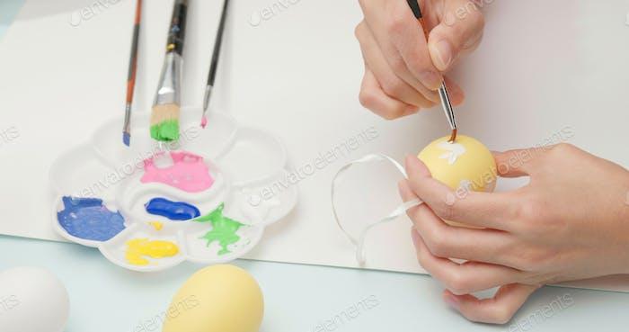 Huevo para vacaciones de Pascua