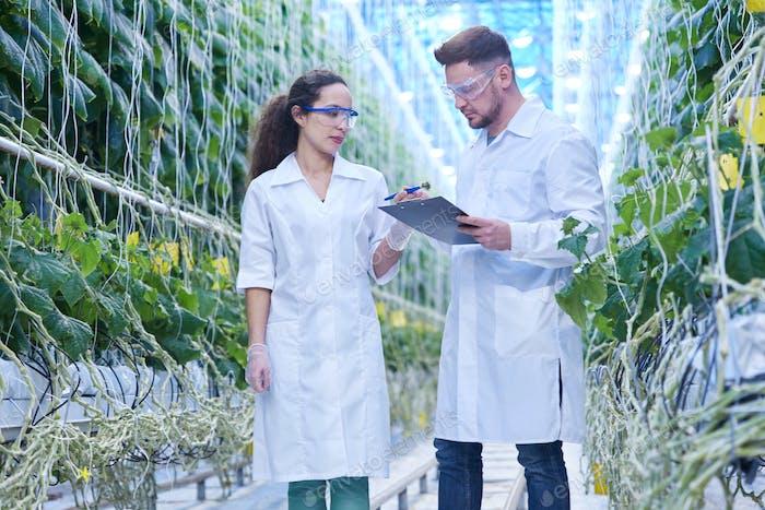 Scientist on Modern Plantation