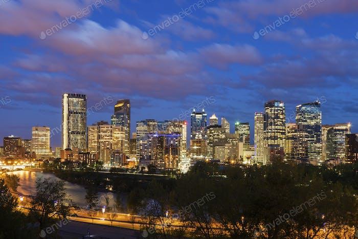 Calgary - panorama de la Ciudad