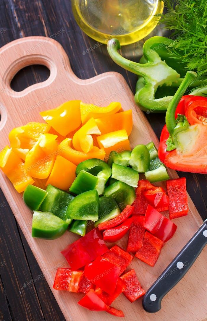 color pepper