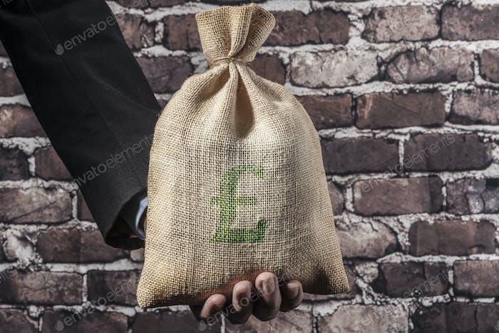 Green Pound In Hand