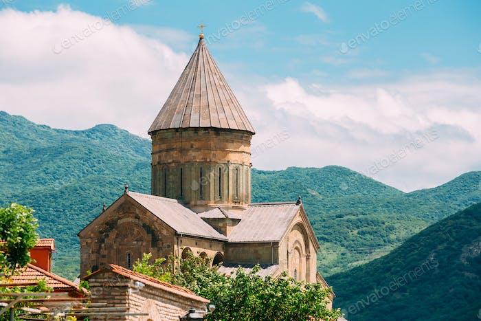 Mtskheta Georgia. Svetitskhoveli Cathedral Living Pillar. Summer