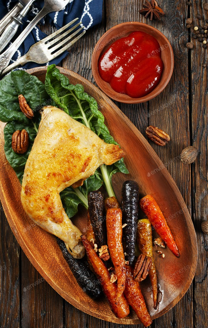carrot with chicken