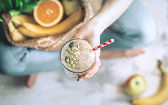 Healthy eating smoothies