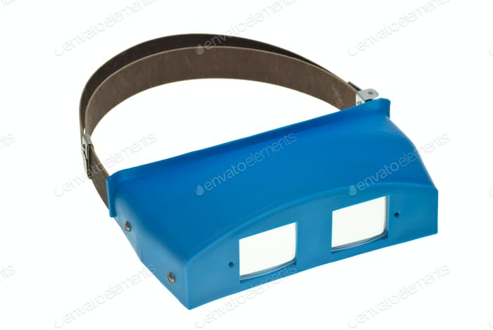 Headband binocular dental loupe
