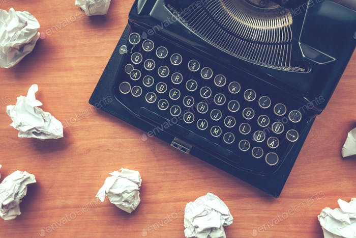 Writer-Block-Konzept