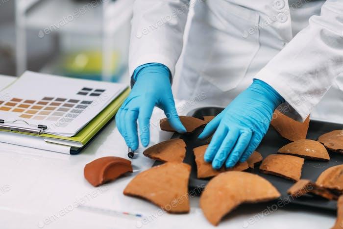 Archäologie Wissenschaftler rekonstruieren gebrochene Keramik