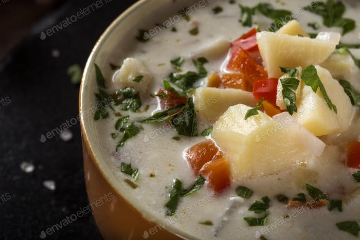 Potatoes soup