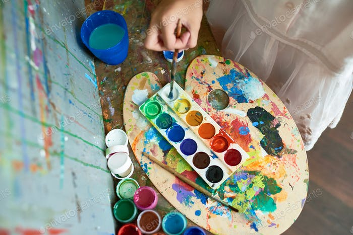 Childs Painting Palette
