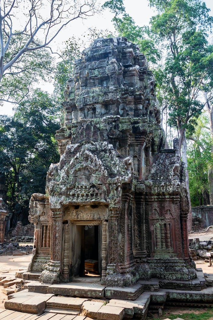 Cambodian shrine in Siem Reap
