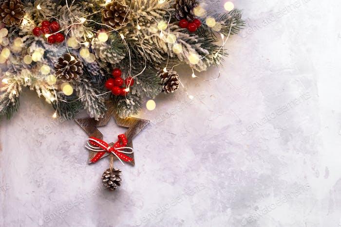 Hanging Christmas star
