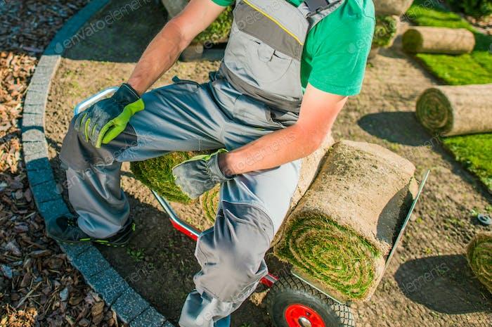 Gardener and Nature Grass Turfs