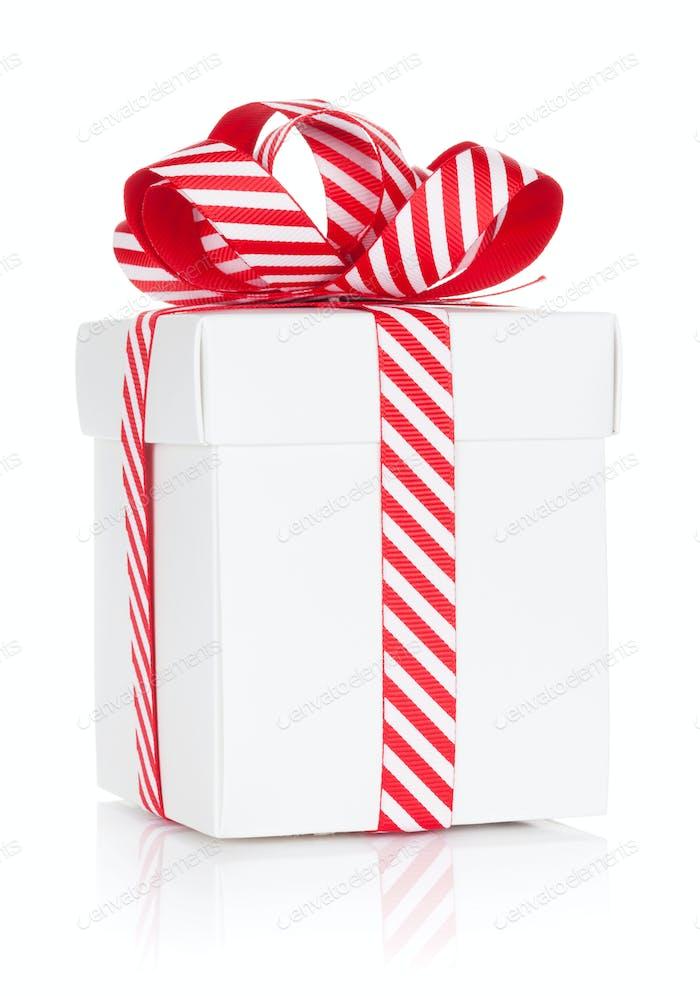 Weihnachtsgeschenk Box Isoliert