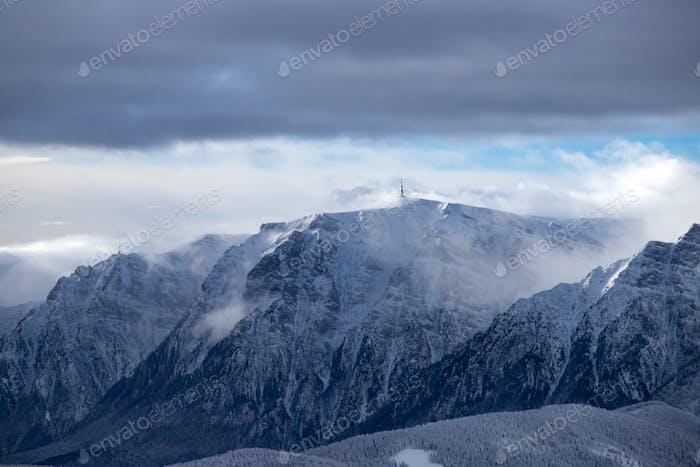 Panoramablick auf das Bucegi Gebirge, Karpaten