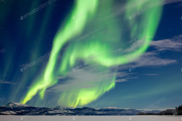 Spectacular Aurora borealis Northern Lights
