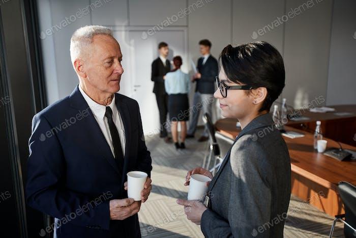 Coffee Break in Meeting