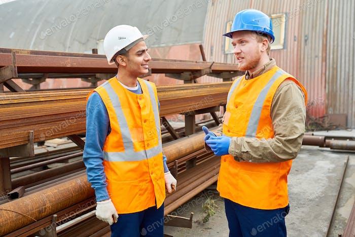 Workers on Break