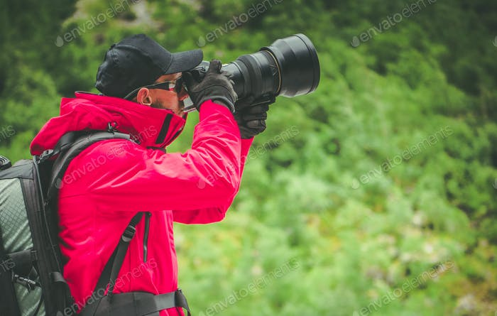 Caucasian Nature Photographer