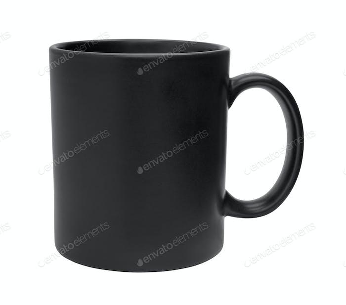 Black Mug Cutout