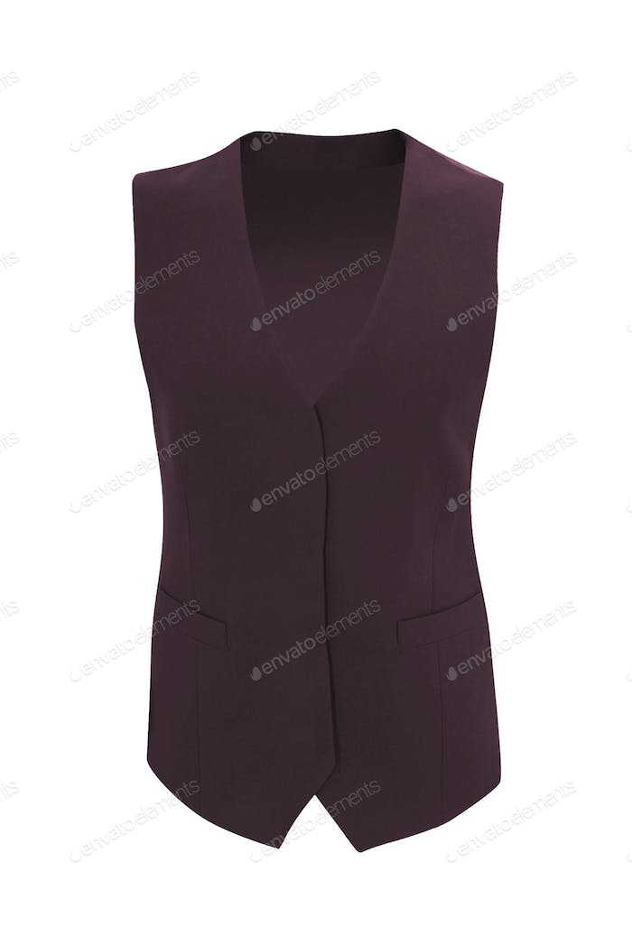 vest isolated on white background