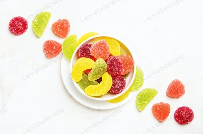 Multicolored marmalade