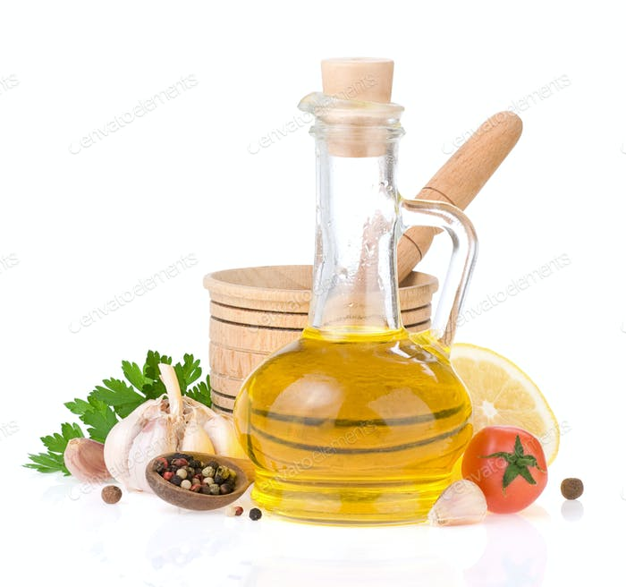oil and food ingredients