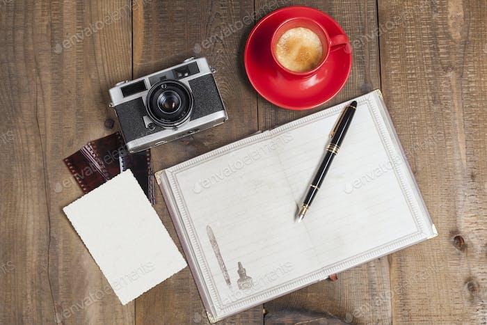 Coffe Camera and Film