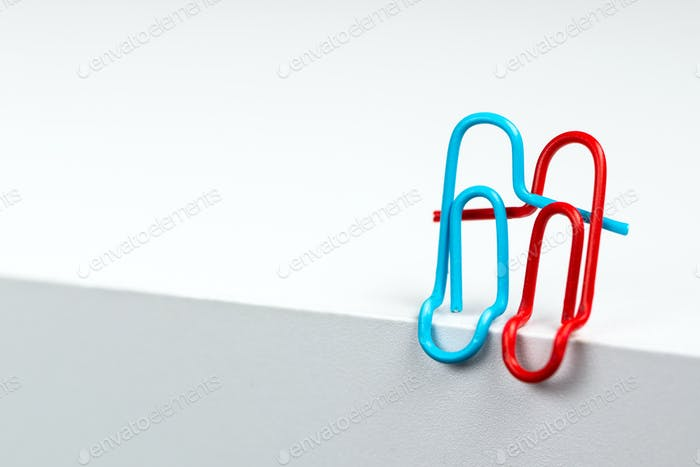 Lovely couple of paper clips