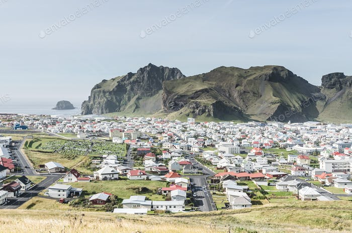 vestmannaeyjar Insel, Island
