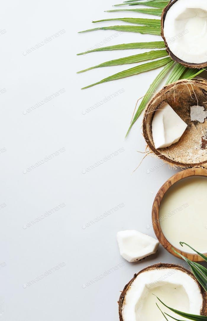 Coconut non dairy vegan milk