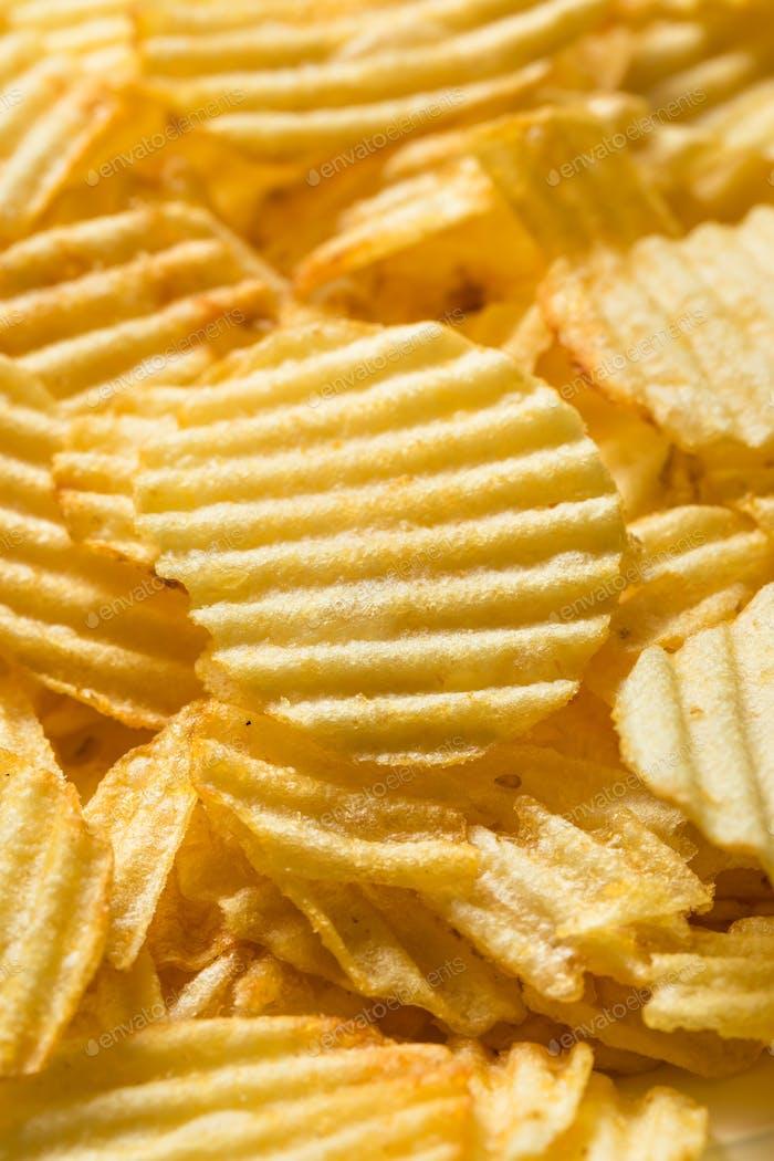 Organic Salted Wavy Potato Chips
