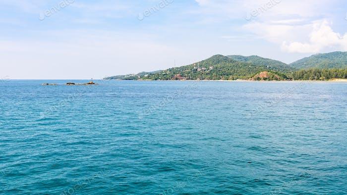 Ko Pha Ngan island in Thailand