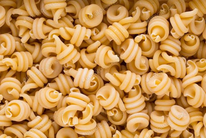 Italienische Makkaroni Pasta voller Hintergrund.