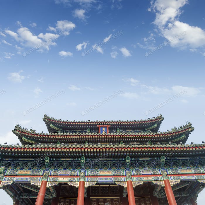 The Palace Museum in the Forbidden