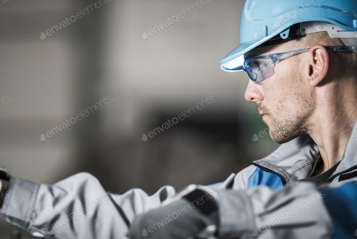 Metalwork Industry Worker