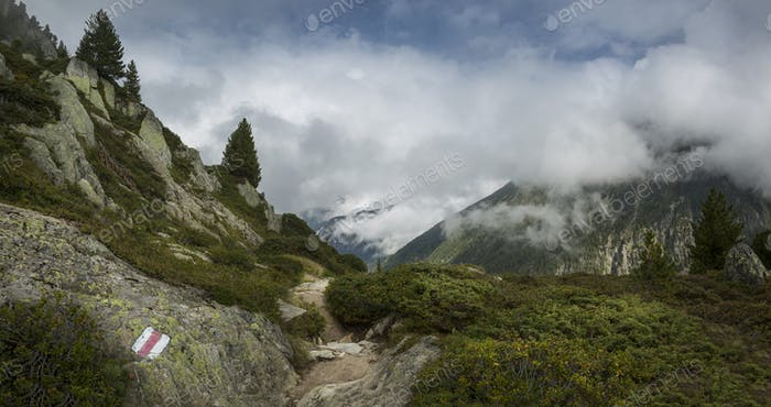 54514,Trail to Mt Blanc, Switzerland