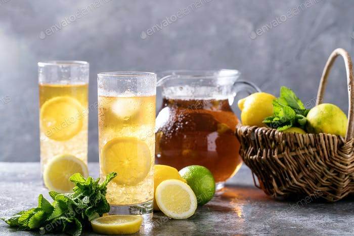 Home made ice tea