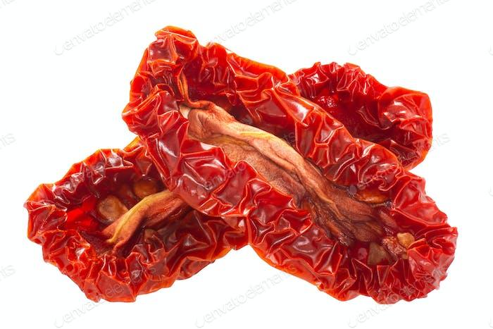 Sonnengetrocknete Datterini Tomatenhälften, Wege