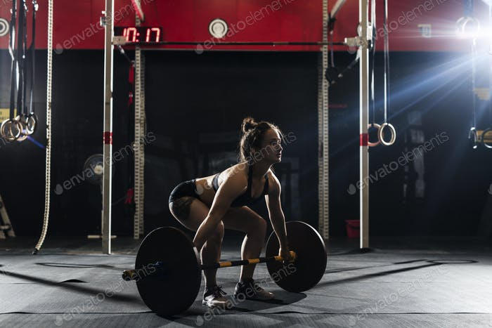 Crossfit with weight