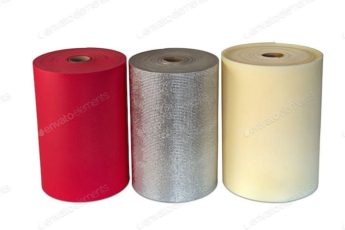 Shockproof Foam Polyethylene Material Multi Colour Rolls