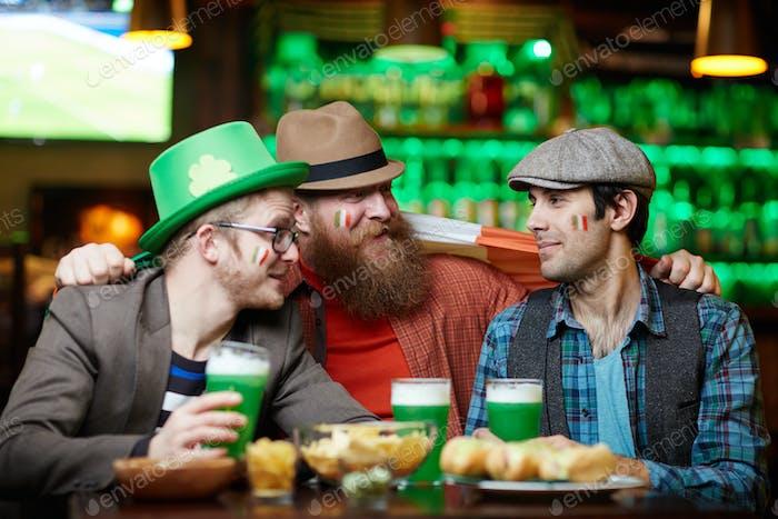 Companions in pub