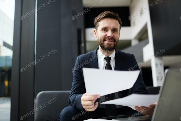 Contemporary businessman